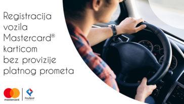 Registracije vozila uz PaySpot i Mastercard