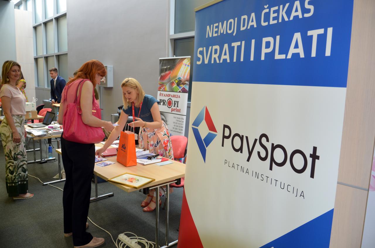 """PaySpot na konferenciji """"Biznis na štiklama"""""""